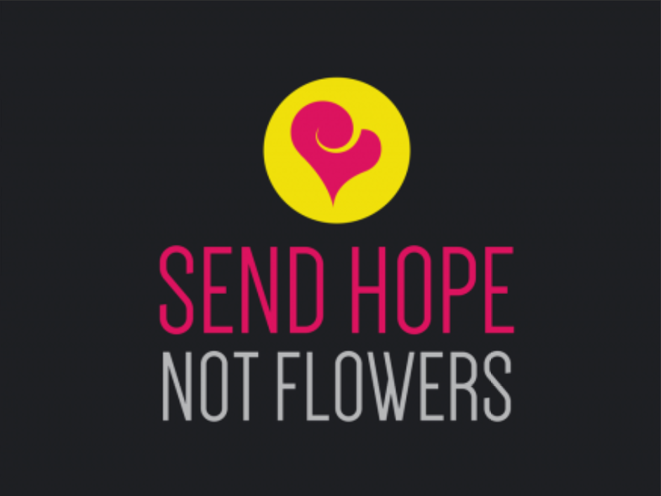 Send Hope Not Flowers Blog Logo