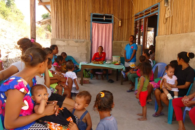 Send Hope starts work in Timor Leste
