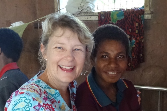 Priscilla's story – giving birth in PNG.
